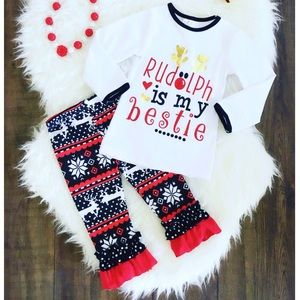 Other - ⬇️$22 Rudolph is My Bestie Outfit Size XXL